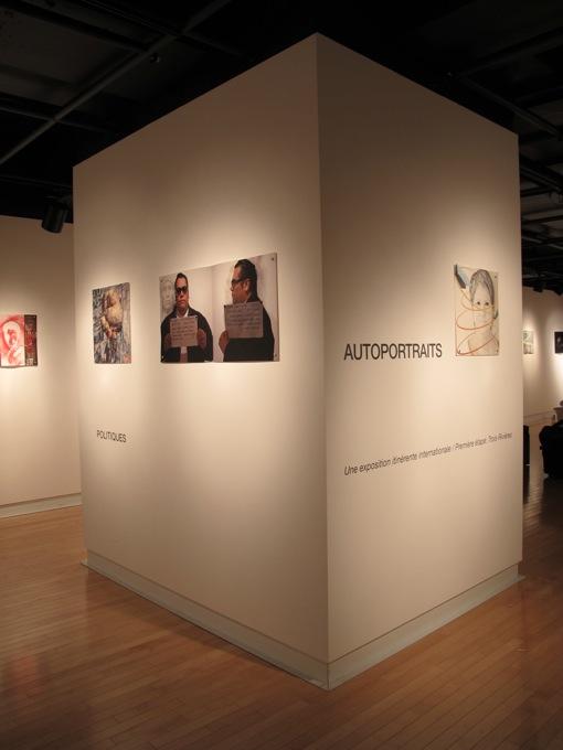 Self-portraits exhibition